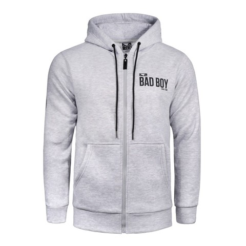 Толстовка Bad Boy Crossover Hoodie - Grey