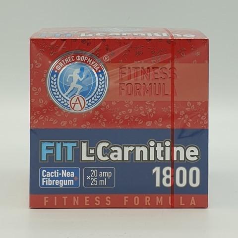 L-карнитин 1800 FIT, Академия-Т, 20 ампул по 25 мл