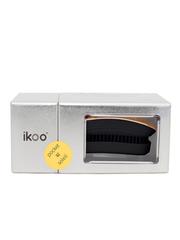 Ikoo Расческа-детанглер для сумочки золотое солнце Pocket Soleil Black Metallic