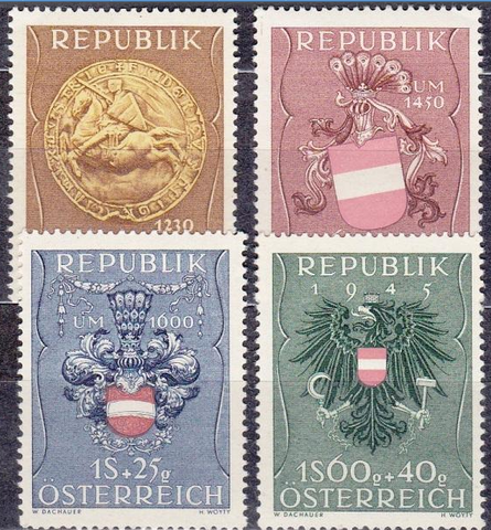 1951 960-3 **MNH