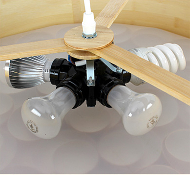 Подвесной светильник Spiro by LZF D60 (коричневый)