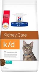 Ветеринарный корм для кошек Hill`s Prescription Diet k/d Kidney Care, при заболеваниях почек, с тунцом