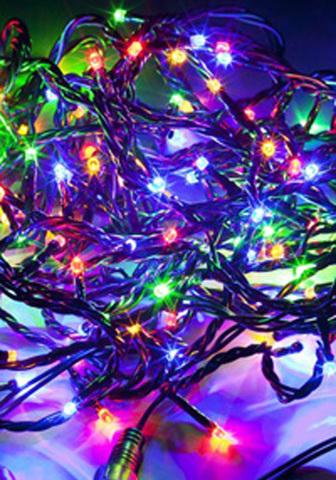 Многофункциональная электрогирлянда Triump Tree 550 lights led мультиколор c контролером