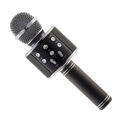 Караоке-микрофон беспроводной WS-858 (чёрный)