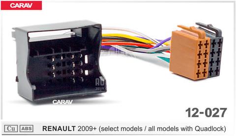 ISO- разъем Carav 12-027 Renault