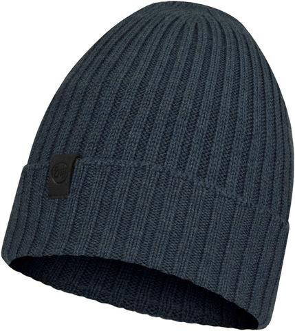 Вязаная шерстяная шапка Buff Hat Wool Knitted Norval Denim фото 2