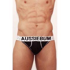 Мужские трусы джоки Aussiebum черные AB00324