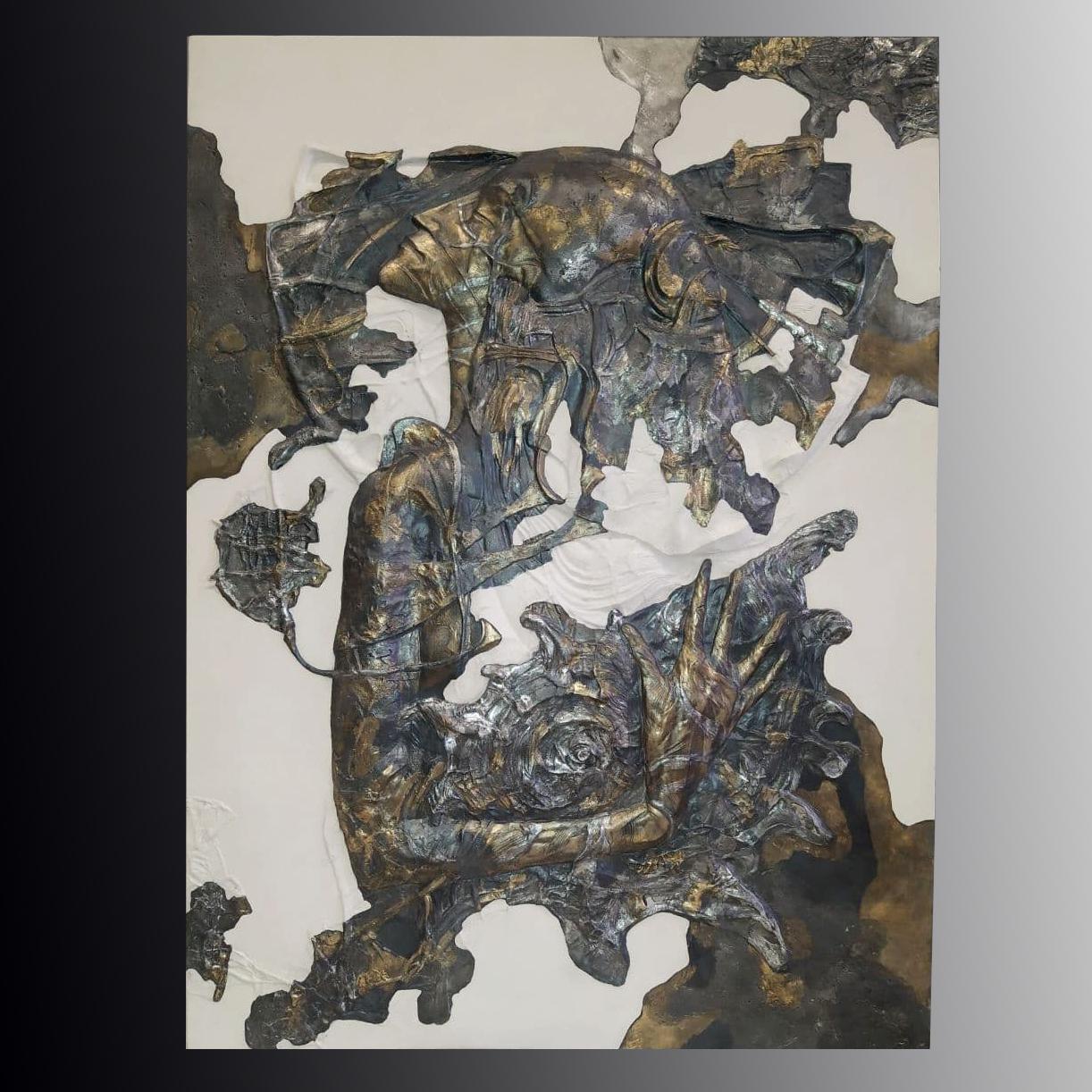 Панно из литьевого камня Okeania (620х445)