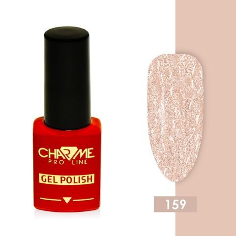 Гель-лак 159 - персиковый перламутр Charme 10 мл
