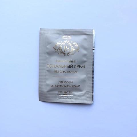 JS Тональный крем для норм/сухой кожи,светло-бежевый 2 мл ШК 4674