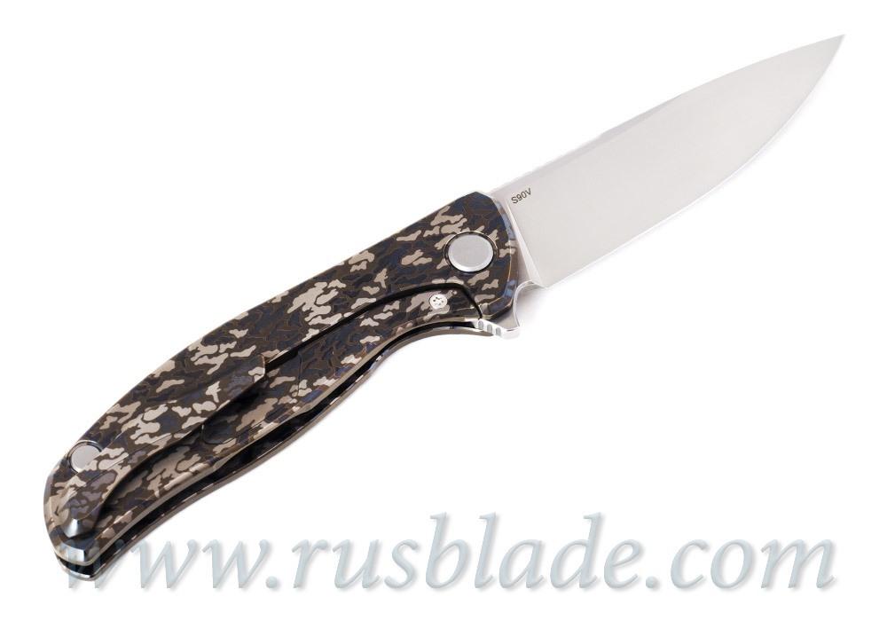 Shirogorov F95 Camo S90V Blade Show Exclusive - фотография