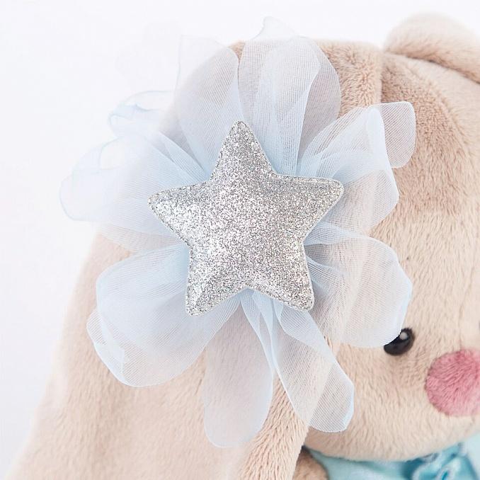 Зайка Ми в голубом платье со звездой