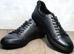 Красивые кеды мужские Komcero 9K9154-734 Black-Grey