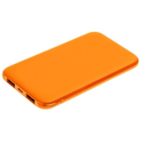 Uniscend Half Day Compact Power Bank 5000 mAh, orange