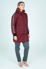 Куртка плащевка на синтепоне удлиненная недорого