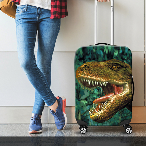 Чехол для чемодана - Динозавр