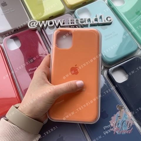 iPhone 11 Pro Max Silicone Case Full /papaya/