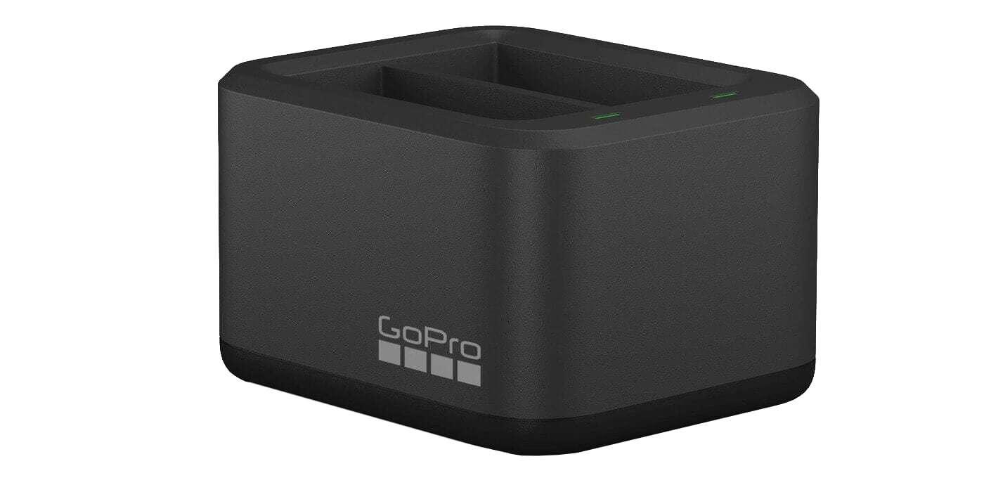 Зарядное устройство для двух аккумуляторных батарей HERO9 GoPro ADDBD-001 (Dual Battery Charger) внешний вид