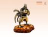 фигурка Петух - Боксер на янтаре