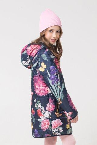 Crockid (Крокид) пальто демисезонное утепленное для девочки
