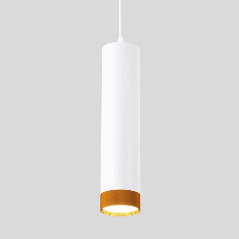 Подвесной светодиодный светильник 50164/1 LED белый/золото