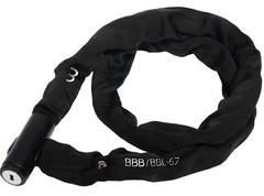 Замок велосипедный BBB QuickChain 4,5x1000mm Black