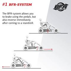 Веломобиль Extra Red BFR