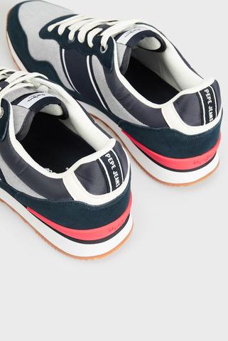 Мужские синие кроссовки CROSS 4 SAILOR CHAMBRAY Pepe Jeans