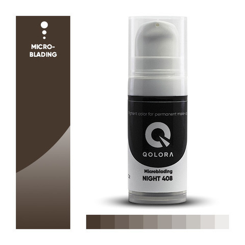 Qolora Night 408 (Ночь) Пигменты