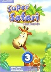 Super Safari 3 Fashcards Pk 78