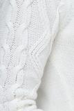 Свитер для беременных 09069 молочный