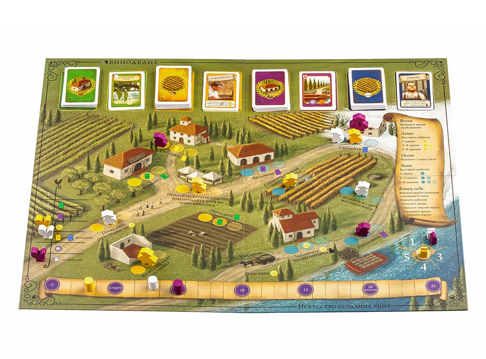 Настольная игра Виноделие. Полное издание