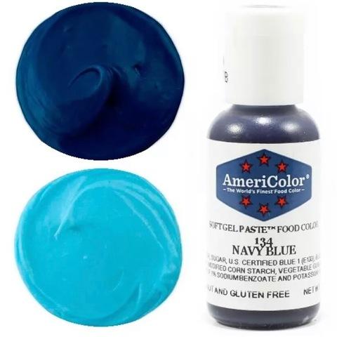 Краситель пищевой AmeriColor 21гр. NAVY BLUE
