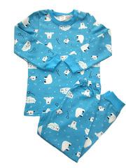 24D-8 пижама детская, голубая