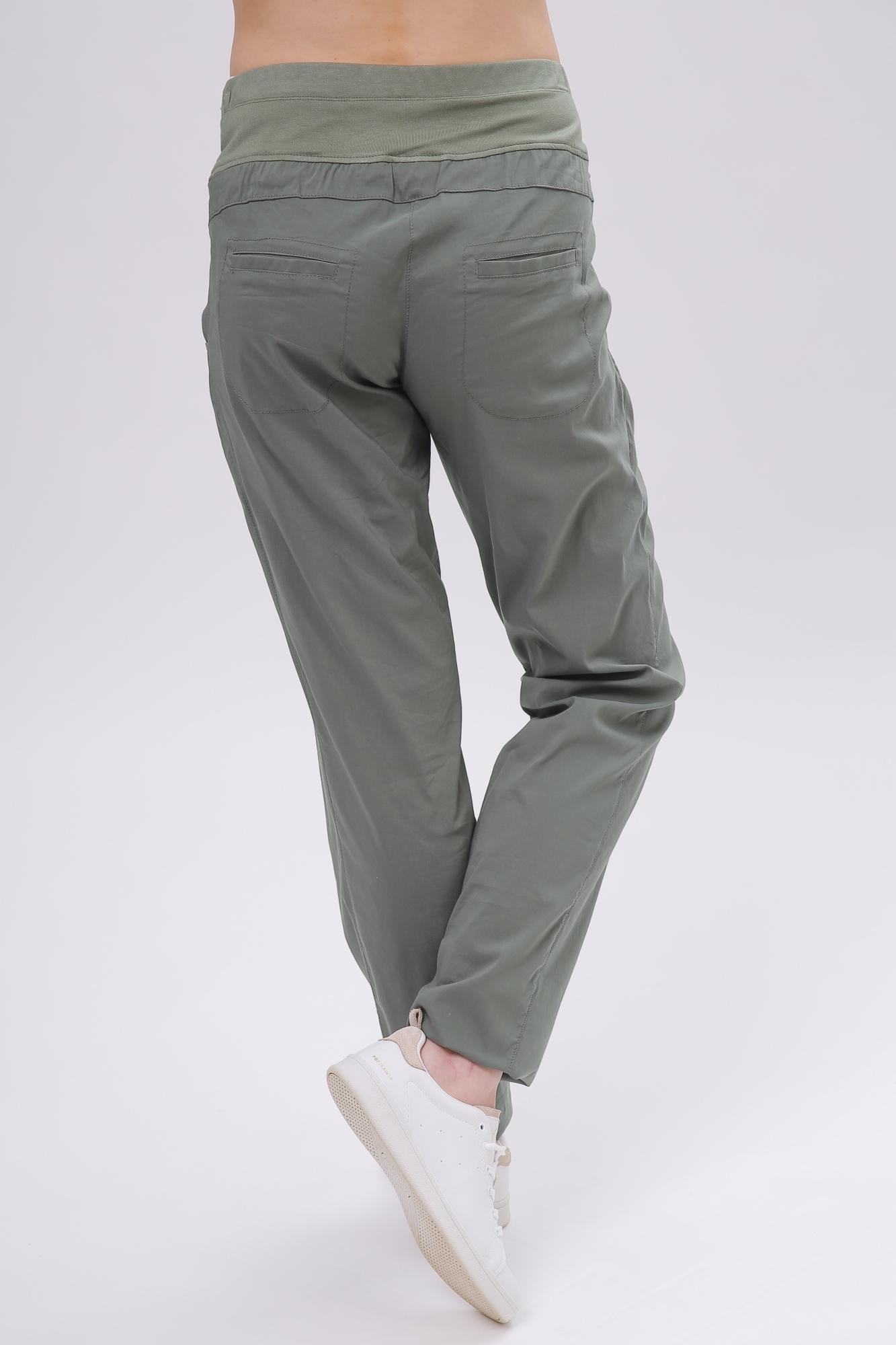 Спортивные брюки для беременных 08626 зеленый