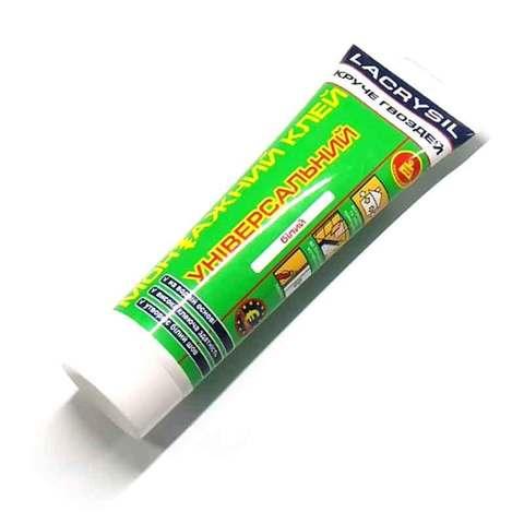 Lacrysil клей монтажный универсальный белый 200 гр.