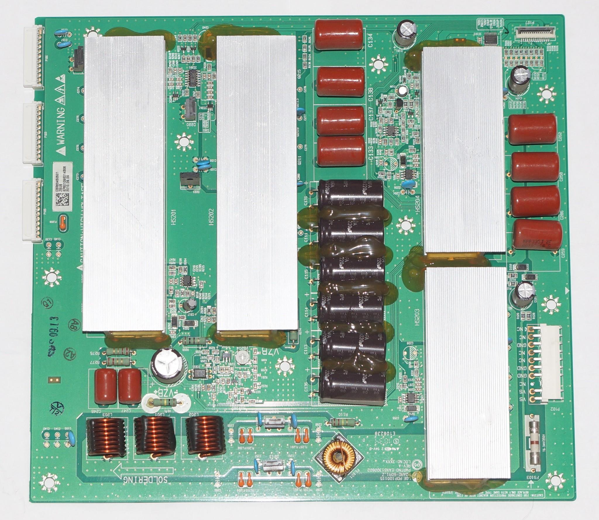 EAX61300602 EBR63450501 ZSUS BOARD телевизора LG