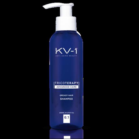 KV-1 Шампунь против жирности волос Tricoterapy Advanced Care Greasy Hair Shampoo 6.1