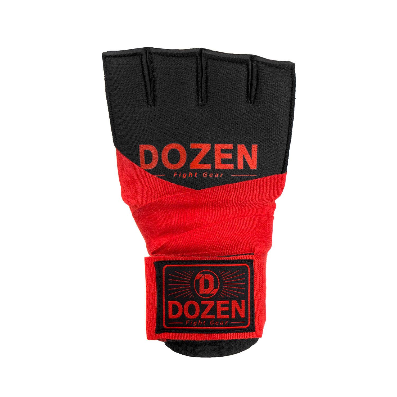 Быстрые бинты красные Dozen Prime Gel спереди