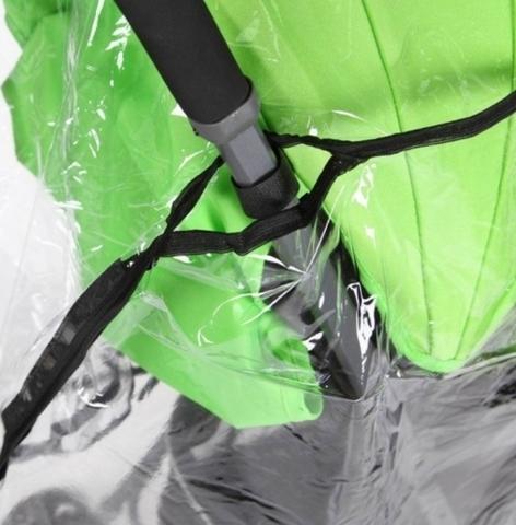 Дождевик для колясок Прогулка с окошком на липучке ПВХ