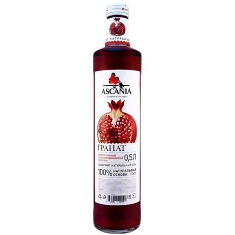 """Газированный напиток """"Аскания"""" Гранат ст/б 0.5л"""