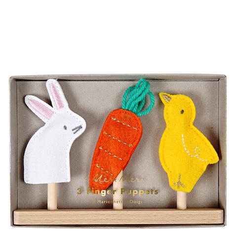 Пальчиковые куклы (в наборе 3 шт)