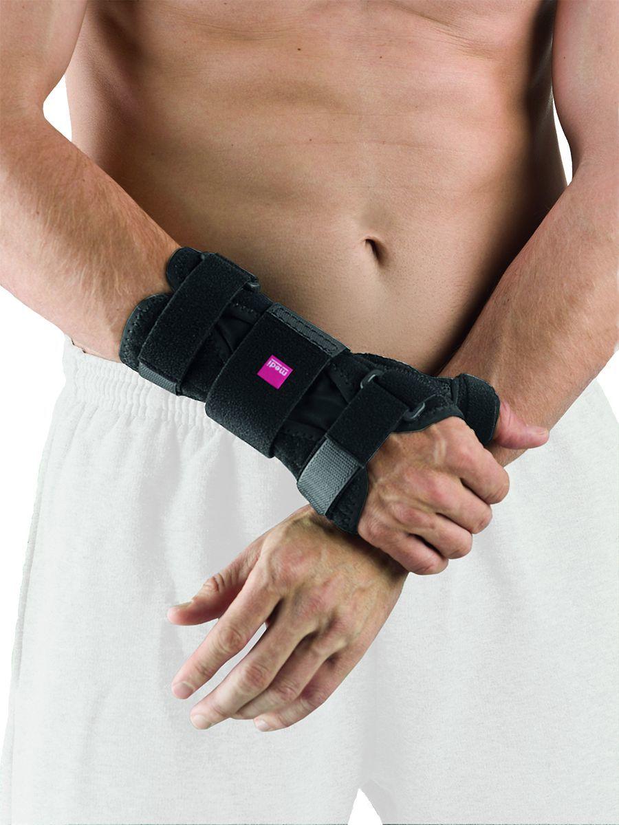Лучезапястный сустав и пальцы Шина для запястья с поддержкой большого пальца Medi Manumed T 88310262c49c31febce7d19de097b219.jpg