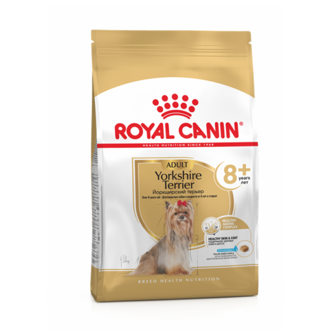 Royal Canin Yorkshire Terrier 8+ Сухой корм для пожилых собак породы Йоркширский терьер