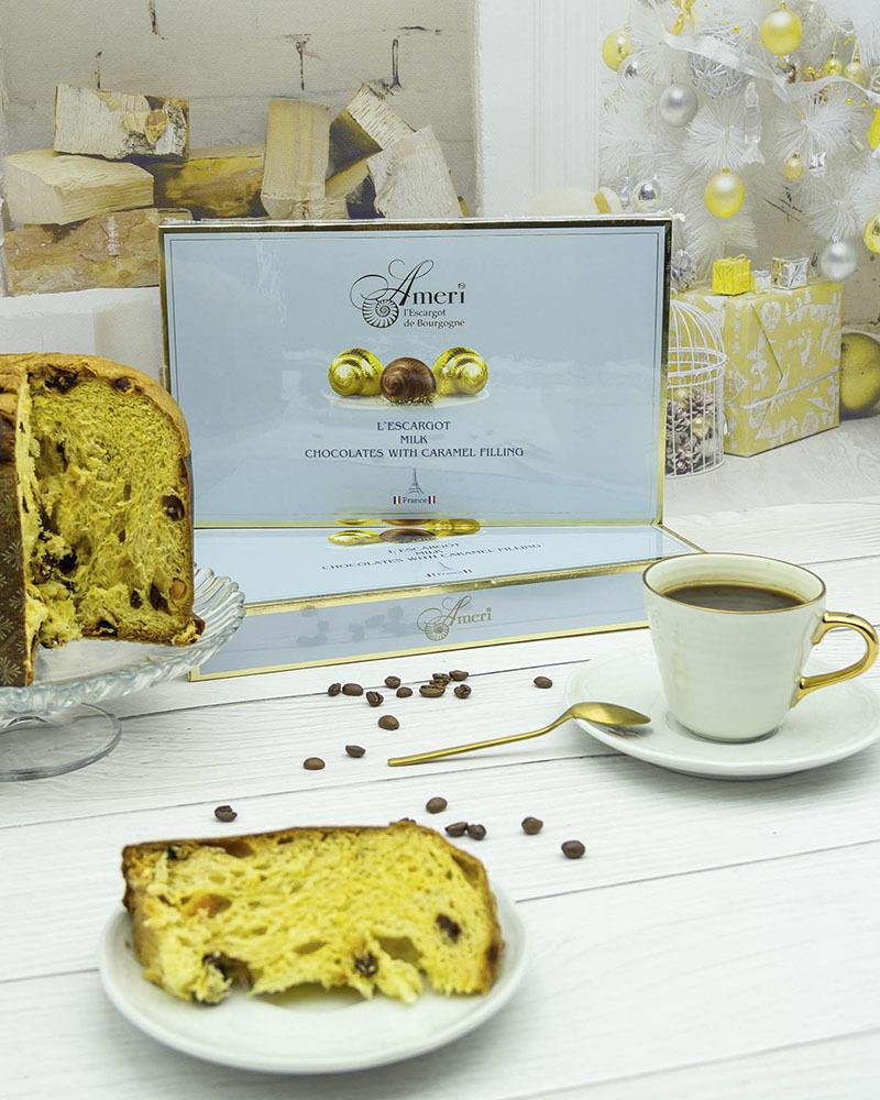 Конфеты Ameri из Молочного Шоколада с Карамельной Начинкой 165 гр.