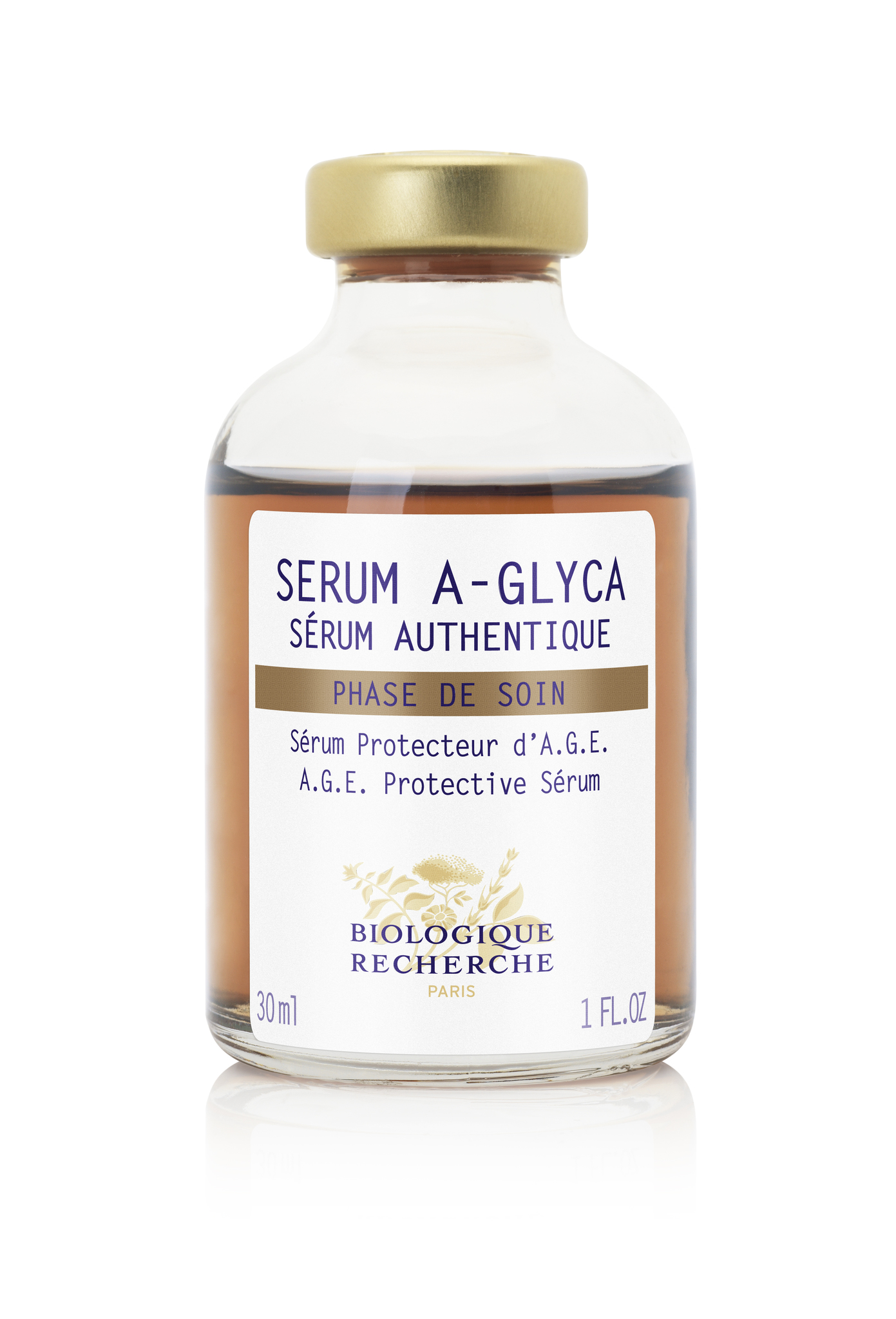 Сыворотка A.G.E. защитная для лица BIOLOGIQUE RECHERCHE Serum A-Glyca 30 мл