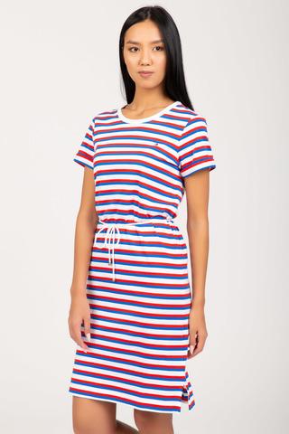 Платье TH COOL STP SHIFT SHORT DRESS SS Tommy Hilfiger