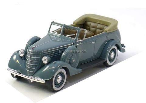 GAZ-11-40 1940 gray 1:43 Nash Avtoprom