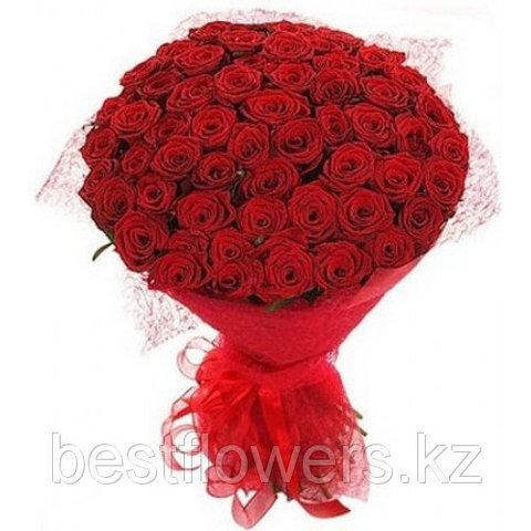 Букет из 51 розы (местные)