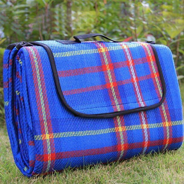 Синий цветовой варинта коврика для пикника
